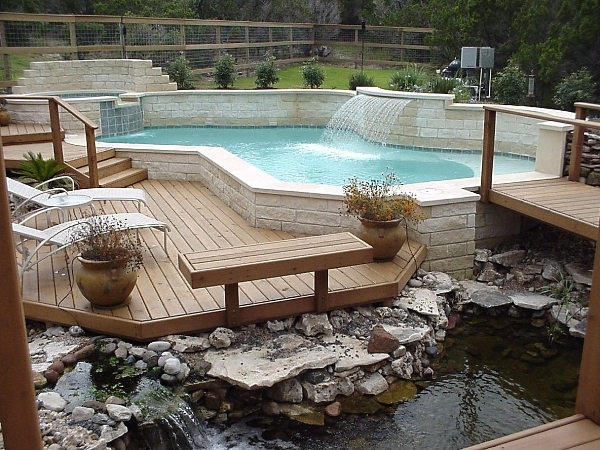 Decks for Pool layout design