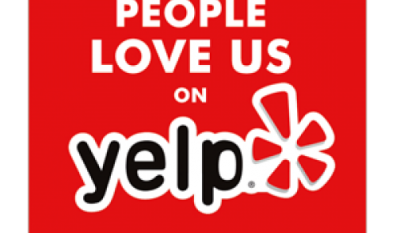 See our Reviews on Yelp!